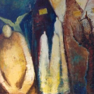 Afscheid | olie op doek | 100 x 60 cm