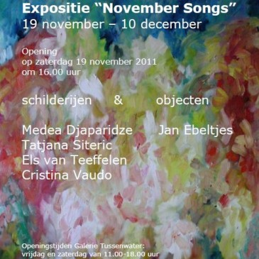 "Expositie ""November Songs"""
