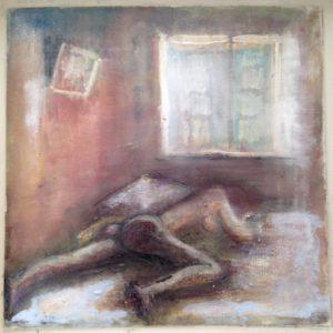 Feeling at home 2 | olie op doek | 30 x 30 cm