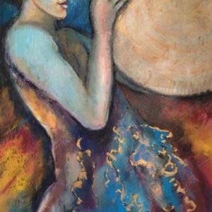 Geschenk  | olie op doek | 70 x 90 cm