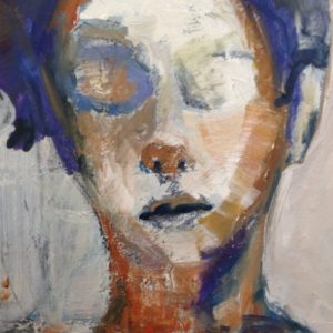 Martha | olie op doek | 40 x 50 cm