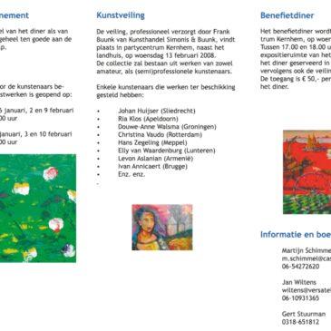 Benefietdiner en Kunstveiling