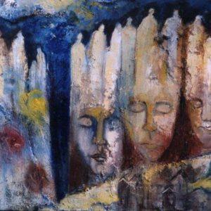 Sleeping kings | olie op doek | 100 x 80 cm