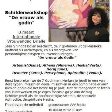 "Workshop ""De vrouw als godin"""