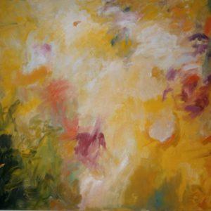 Zomerlicht | olie op doek | 120 x 100 cm